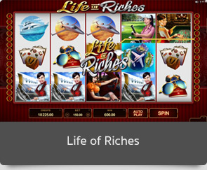 golden slot life ofriches