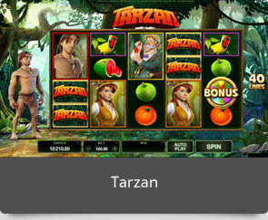 golden slot tarzan