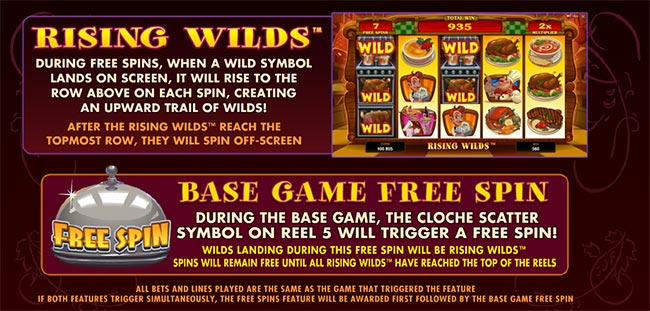 big chef slot wild free spins