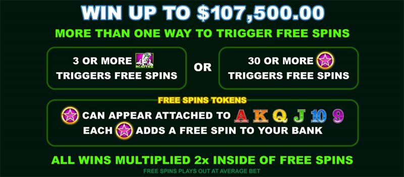 cool buck slot free spin