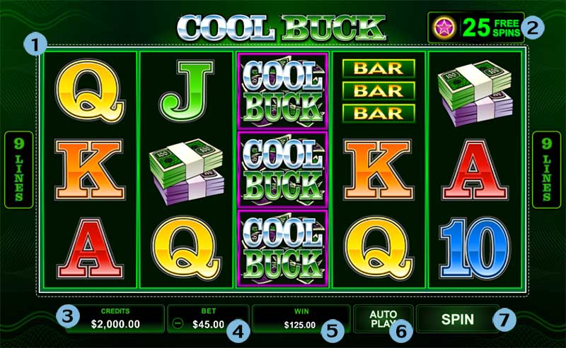cool buck slot online