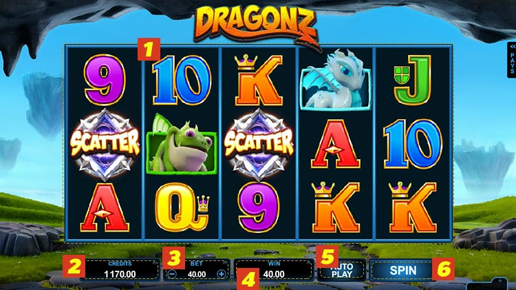 dragonz golden slot