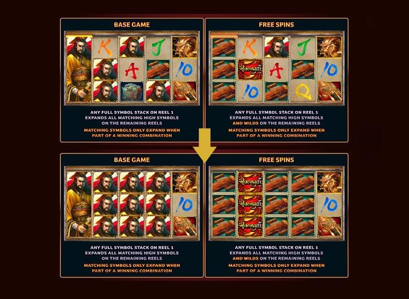 expanding huangdi slot online