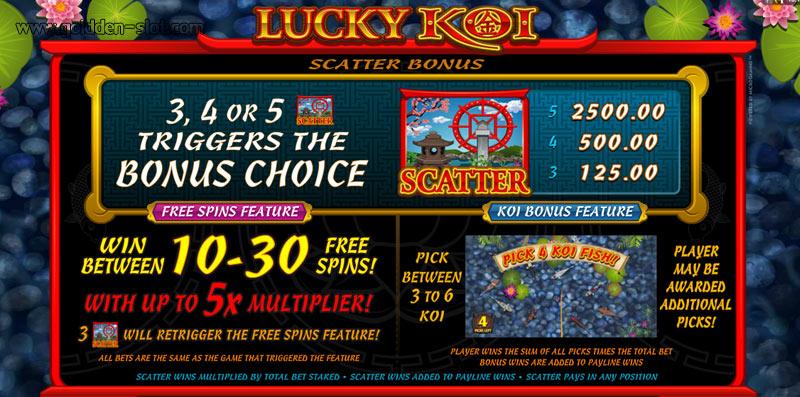 free spin luckykoi slot