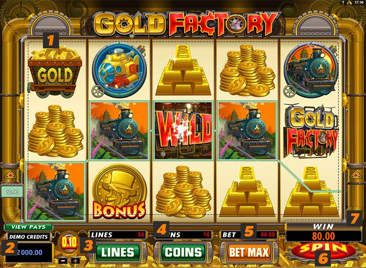 gold factory goldenslot