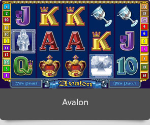Golden slot avalon