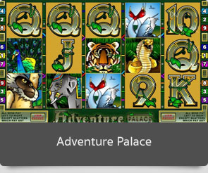 Golden slot adventure palace