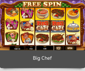 Golden slot big chef
