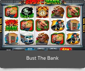 Golden slot bust the bank