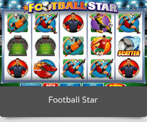 Golden slot football star