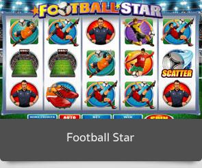 Golden slot football star