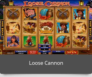 Golden slot loose cannon