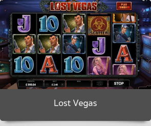 Golden slot lost vegas