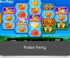 Golden slot pollen party