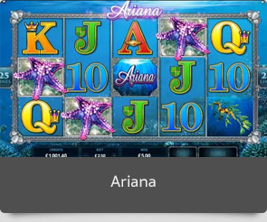 Golden slot ariana