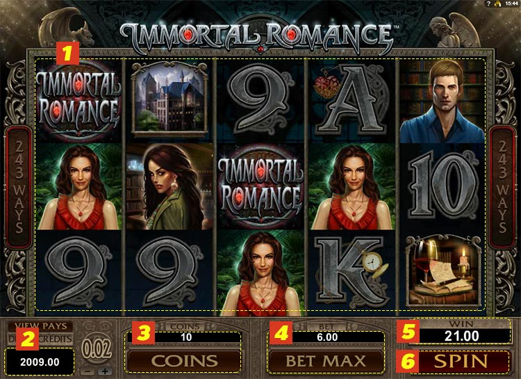immortal romance goldenslot