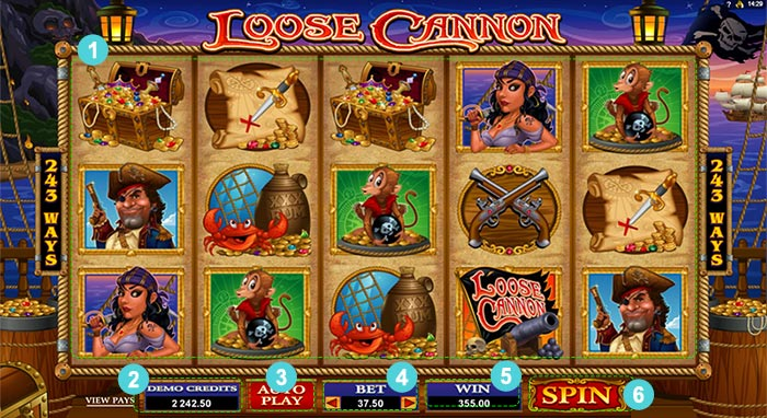 loose cannon goldenslot