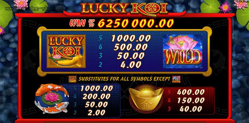 lucky koi slot symbol