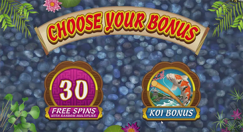 slot koi bonus feature