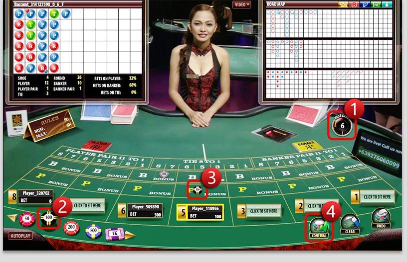 step play live casino
