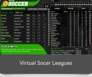 goldenslot virtual socer leagues