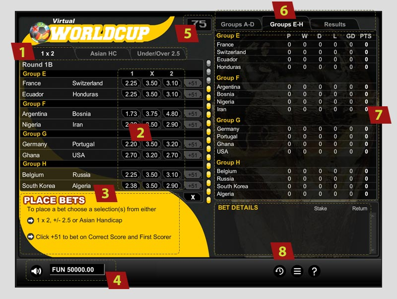 virtual socer worldcup