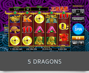 5 dragons slot online