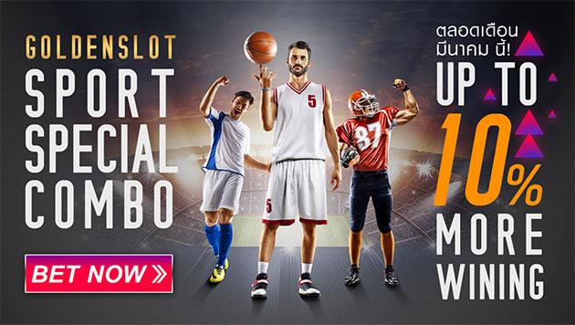 free bonus 10% goldenslot sports