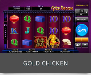 gold chicken slot