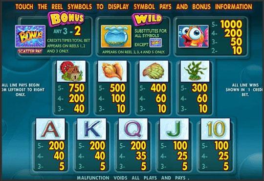bonus slot gold fishgold