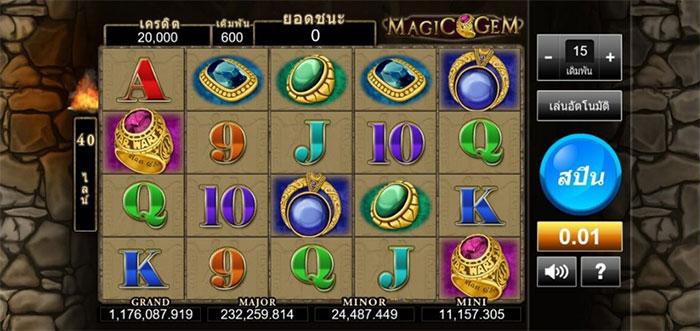 magic gem slot online