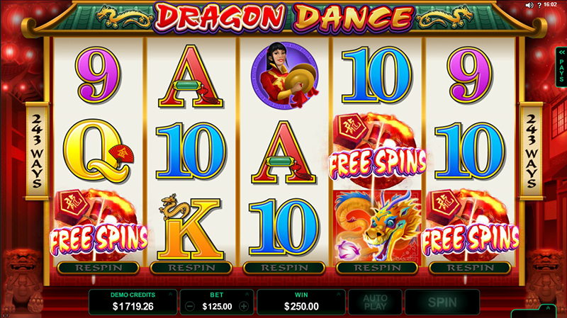Dragon Dance special pays