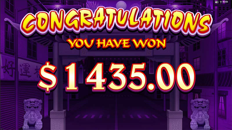 Dragon Dance jackpot slot