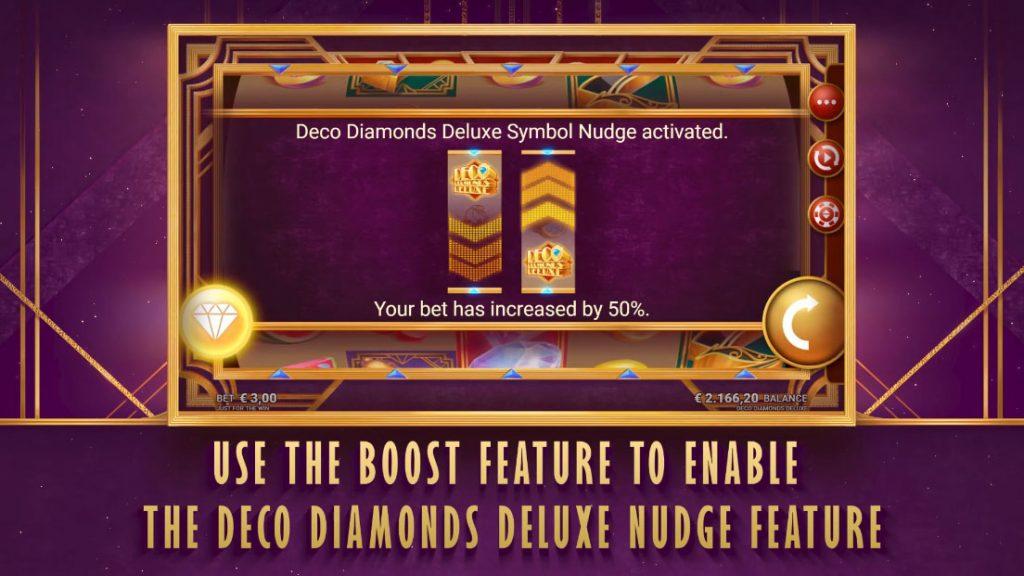 Deco Diamonds Deluxe Symbol Nudge
