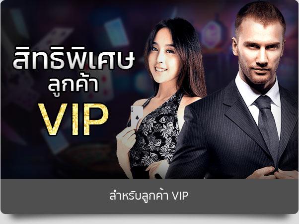 Promotion สำหรับลูกค้า VIP
