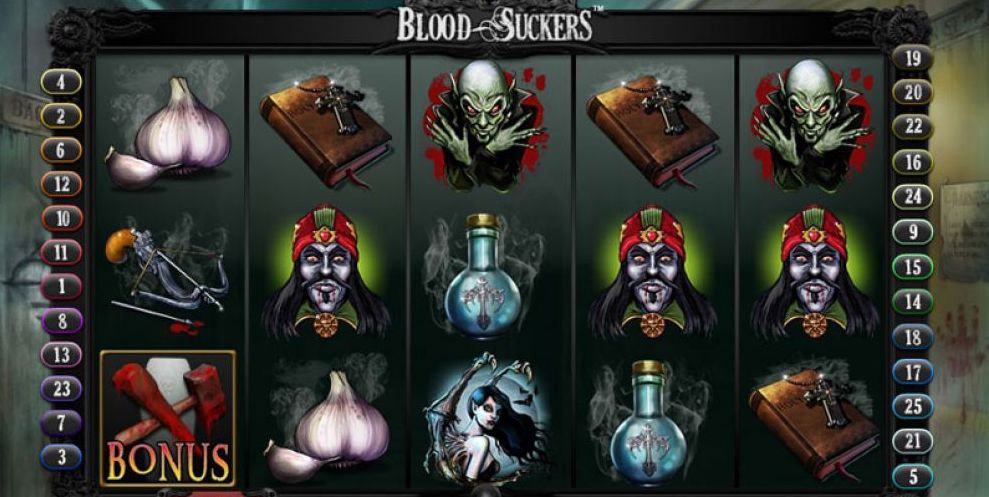 Blood Suckers สล็อตแวมไพร์ดูดเลือด