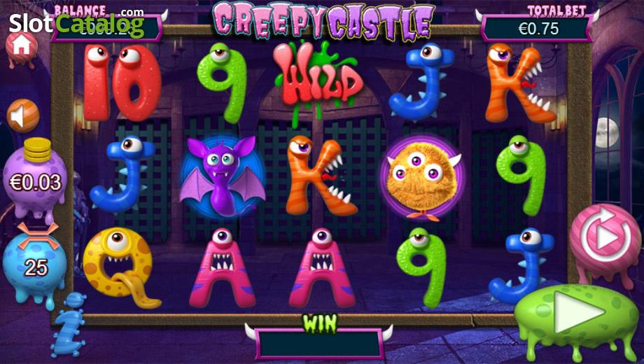 Creepy Castle Slot เกมสล็อตมอนเตอร์