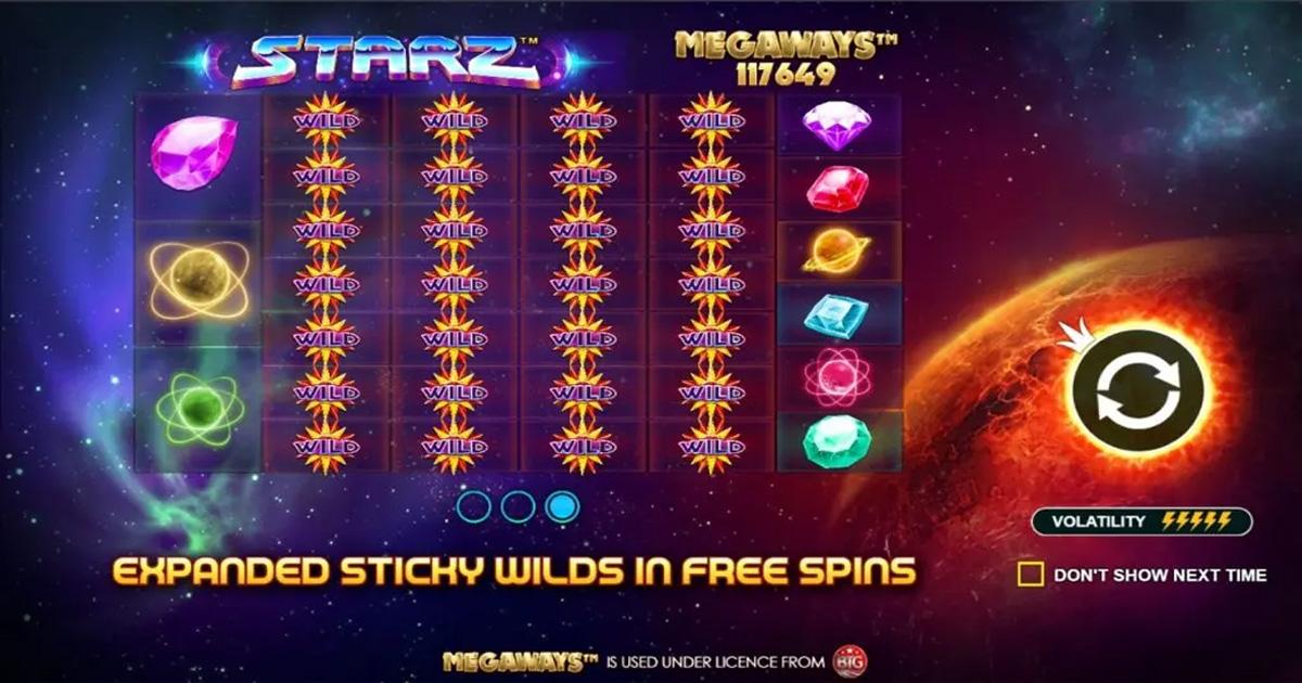 เกมสล็อต Starz Megaways