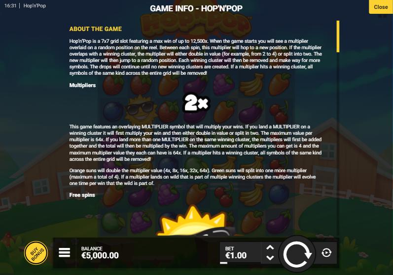 รีวิวเกม Hop N Pop