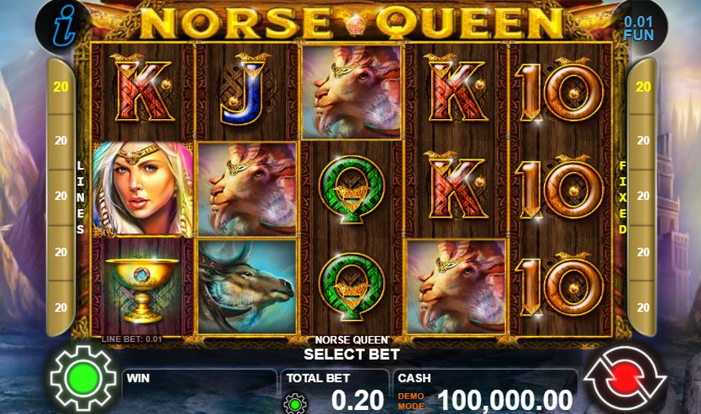 รีวิวสล็อต Queen of Norse slot